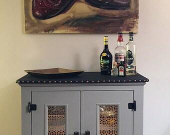Wine Liquor Cabinet Etsy