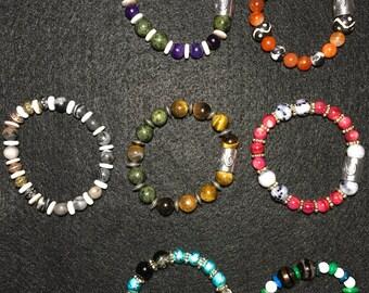 """Beaded 7"""" Bracelet"""