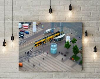 Leipzig, Augustusplatz, Photo, Photoprint, Art, Printart - Poster, Acrylic, PVC foamboard, canvas print