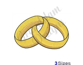 Connected Rings - Machine Embroidery Design