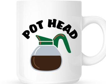 Pot Head 15oz Coffee Mug