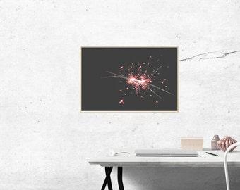 Sparklers Print