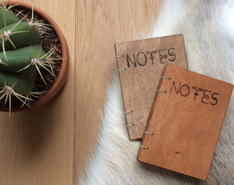 Wood notebook Notes