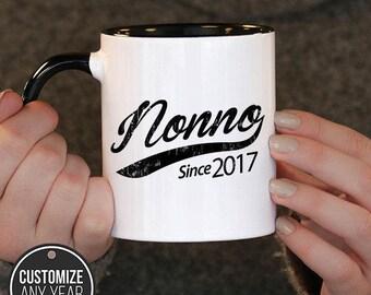 Nonno Since (Any Year) Nonno Gift, Nonno Birthday, Nonno Mug, Nonno Gift Idea, Baby Shower,
