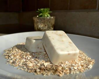 Handmade Sweet Almond Honey Oatmeal Soap