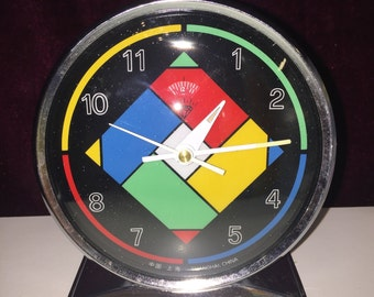 90s vintage clock made in china