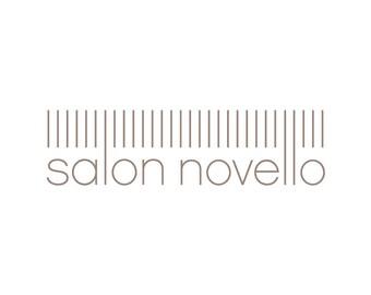 Hair Salon Logo, Salon Logo, Beauty Salon Logo, Hair Logo, Haircut Logo & Beauty Logo with Short Bangs
