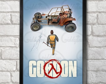 Gordon Poster Print A3+ 13 x 19 in - 33 x 48 cm #freeman #half-life #akira v1 Buy 2 get 1 FREE