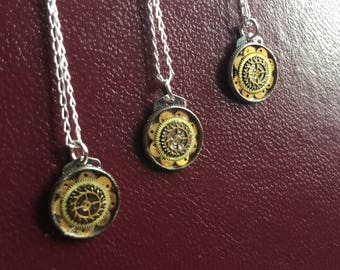 Silver Steampunk Necklace