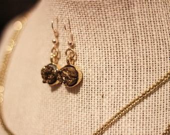 Borah Earring (bronze)