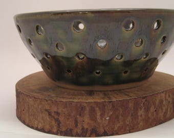 Hand Thrown Pottery Fruit Bowl