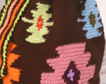 Cotton,wayuu,bag,handmade,crochet