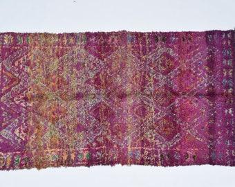 BEAUTIFUL BENI MGUILD - Vintage Moroccan Carpet - Berber Rug