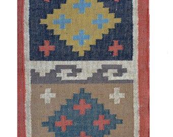 Handmade Wool Jute Rugs Carpet