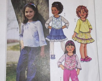 Sewing pattern for girl