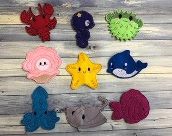Aquatic Finger Puppets