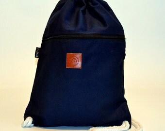 Smooth Back pack Blue