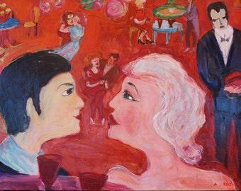 Love stories, image, 50 / 70cm