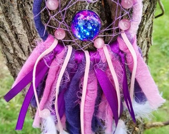 Dream catcher Galaxy ombre Pink Purple