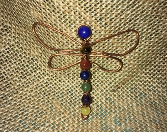 Copper wire Dragon Fly