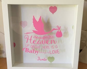 Baby Themed Box Frame