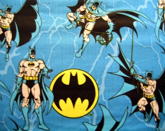 Batman Fabric Hero By the Yard 36 Inches Long