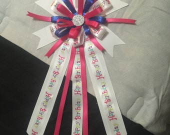 Birthday Pin Corsage