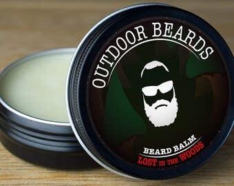 Outdoor Beards Beard Balm - Lost in the Woods 2oz