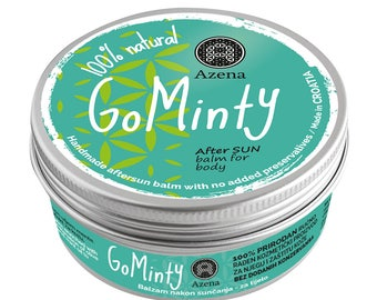 Go Minty! herbal sun aftercare body balm