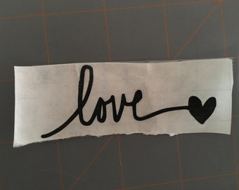 Love Decal