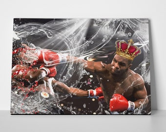 Mike Tyson Poster Special Edition 24x36 Mike Tyson Poster | Mike Tyson Canvas