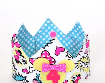 Minnie birthday Crown