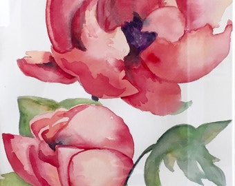 Watercolor Flowers *Made to order*
