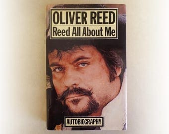 Oliver Reed - Reed All About Me - autobiography vintage hardback book - 1979