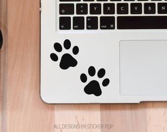 Paw Prints - Animal Lover - Laptop Sticker - Laptop Decal - Car Sticker - Car Decal - Window Sticker