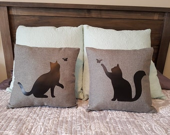 Cat Pillow Covers