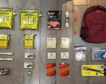 2 Person 3 day disaster kit