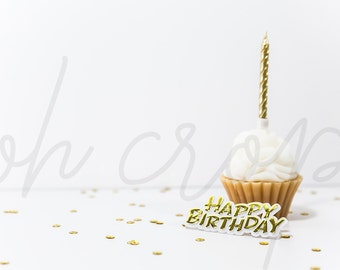 Styled Stock Photography, Birthday Party Styled, Party Photo, Digital Background,Birthday Background,Mockup,Party,Flat Lay,White Photo, OC03