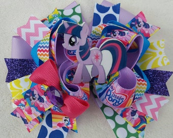 My Little Pony 6in. Stacked OTT hairbow