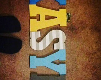 Customized Wood Letters