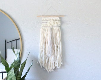 Ivory Handwoven Tapestry