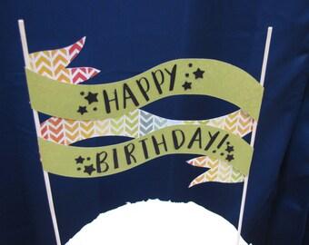 Paper Cake Banner