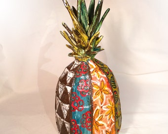 Sculpture decoration pineapple