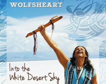 Into The White Desert Sky