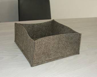 FELT box diced bread basket nut basket Utenilio