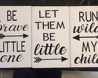 Nursery/toy room signs