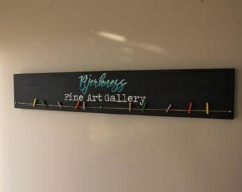Custom Fine Art Gallery Sign