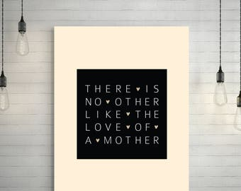 Valentines Day Gift   Mother's Day Gift   Printable Wall Art   Gift for Mom   Wall Art Home Decor   Anniversary Gift   Gift for Her