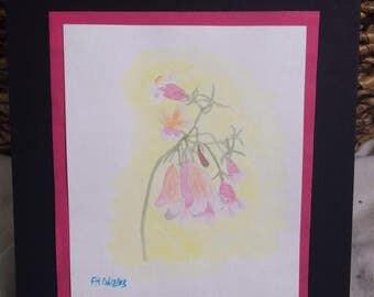Bell Flower Watercolor