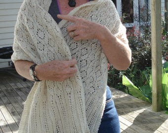 Knitting Pattern for Connemara Stole